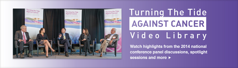 Watch highlights from the 2014 national conference panel discussions, spotlight sessions and more